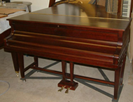 Reconditioned Bechstein Model B Piano.