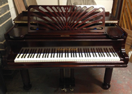 English Collard & Collard 5ft Grand piano repolished in a Rosewood gloss finish.