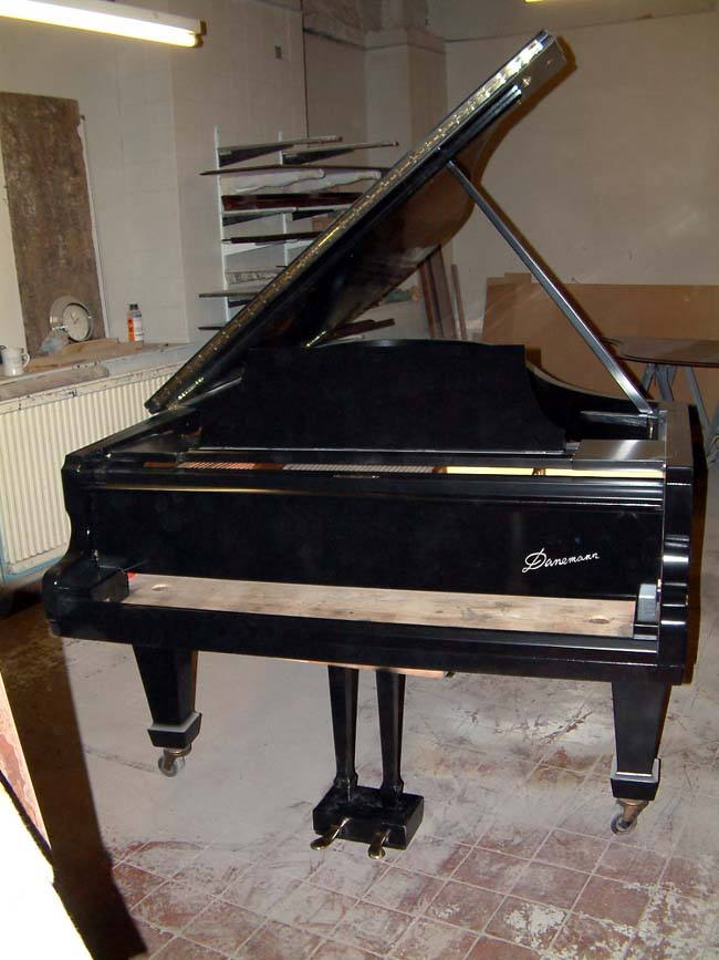 Re-polished Danemann Concert Grand Piano