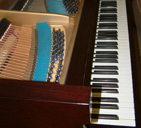 Bechstein Grand Piano Frame