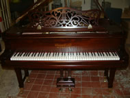 Chappell Baby Grand Piano.